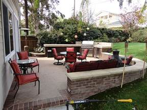 How To Design Low Voltage Landscape Lighting - outdoor patio bbq and entertainment area gemini 2 landscape construction