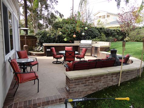 Outdoor Patio Bbq And Entertainment Area Gemini Landscape