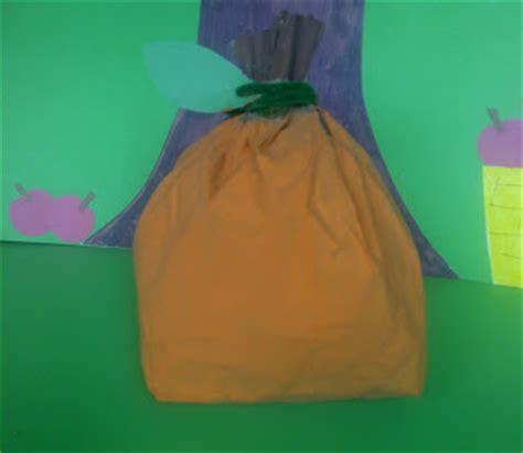 Paper Bag Crafts For Preschool - crafts for preschoolers paper bag pumpkin