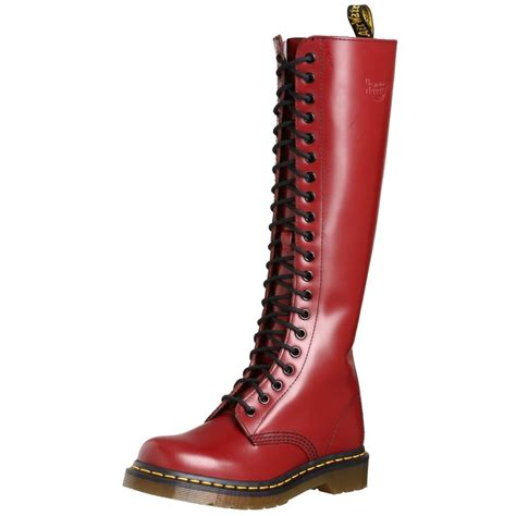 dr martens 1b60 20 eye cherry smooth leather