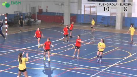 imagenes de niños jugando handball balonmano infantil femenino fuengirola europa youtube