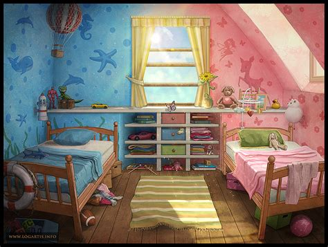 children s room 1 by logartis on deviantart