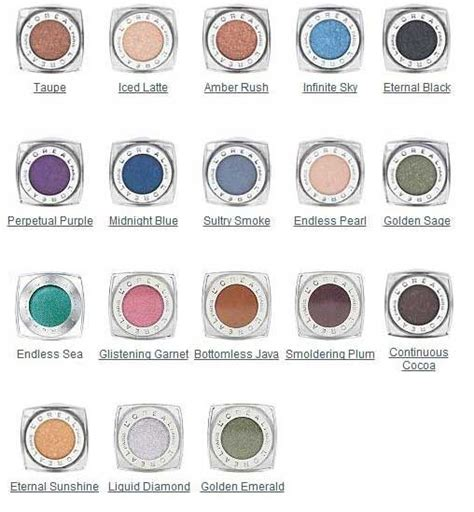 L Oreal Infallible Eyeshadow l or 233 al infallible 24 hr eye shadow maybelline