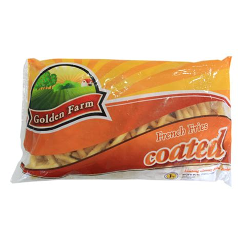 golden farm crinkle cut 1kg golden farm fries cut 1 kg sukanda djaya