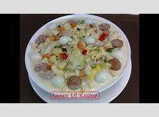 Creamy Macaroni Chicken Sopas / Filipino soup - YouTube C.