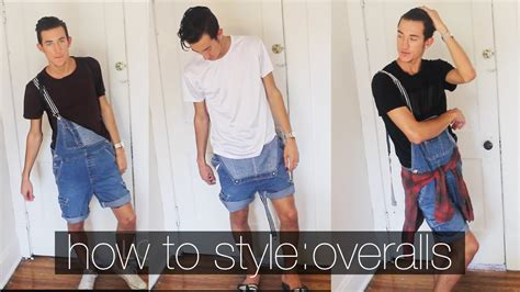 fashion how to wear overalls overalls created by doris knezevic how to style overalls men s fashion summer lookbook