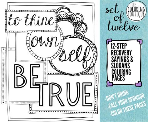 12 Step Cafe Home Page | recovery coloring pages 12 steps coloring by