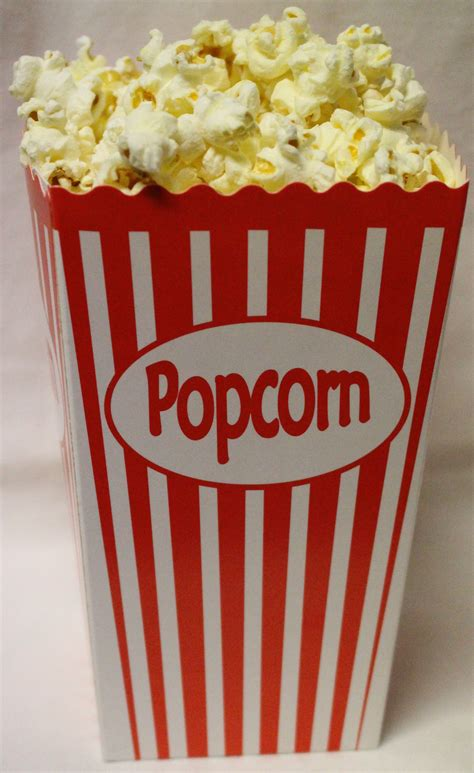 Popcorn Box 50 popcorn boxes daiquiri hire melbourne