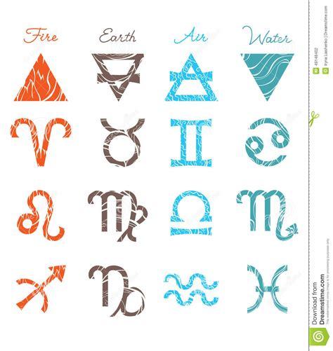 symbol for zodiac symbols stock illustration image 49148402