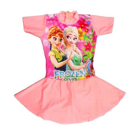 Baju Renang Anak Frozen jual baju renang rok anak motif frozen fever