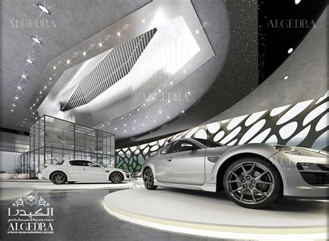 car showroom interior design  turkey algedra