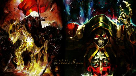 overlord anime wallpaper android overlord wallpapers pictures images