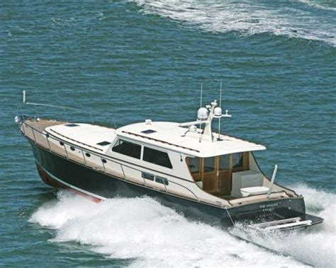 downeast boats for sale florida vicem 58 classic comfortably cruising at 32 knots