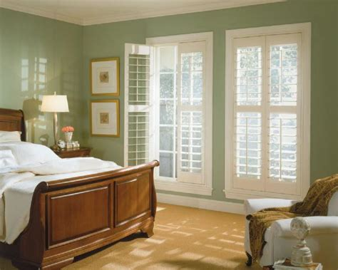 bedroom shutters what do you think of plantation shutters in a bedroom