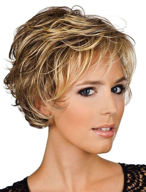 very short ladies hair with weight on crown approximate dimensions crown layer length 4 quot 11cm