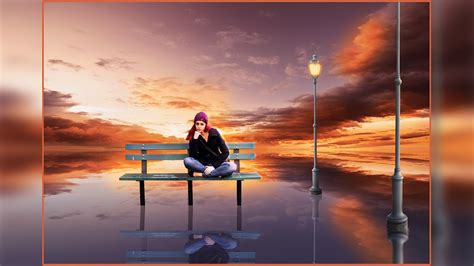 tutorial photoshop dramatic effect photoshop manipulation tutorial dramatic sunset effect