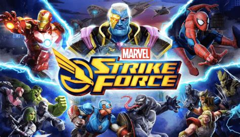 video preview marvel strike force mobile game