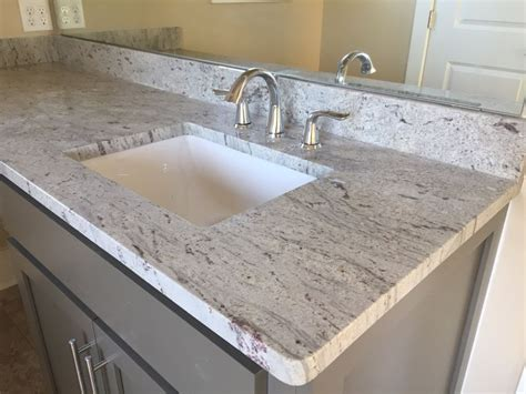 pictures of white granite bathroom countertops bathroom countertops gallery by luxury countertops