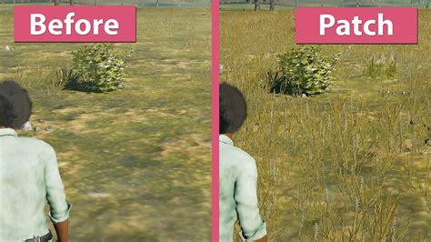 pubg 720p vs 1080p playerunknown s battlegrounds month 1 update patch vs
