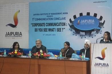 Mba In Communication India by Communication Conclave Communication Makes Sustains And