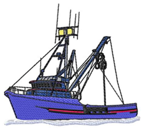 fishing boat embroidery design fishing boat embroidery designs machine embroidery