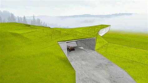 Single Level Homes hidden house poland dom ukryty e architect