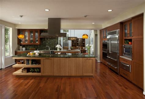 bamboo cabinets kitchen dewils bamboo cabinetry contemporary kitchen