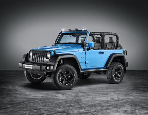 Jk Jeep Forum Jeep Unveils Mopar One Rubicon At Geneva Jk Forum
