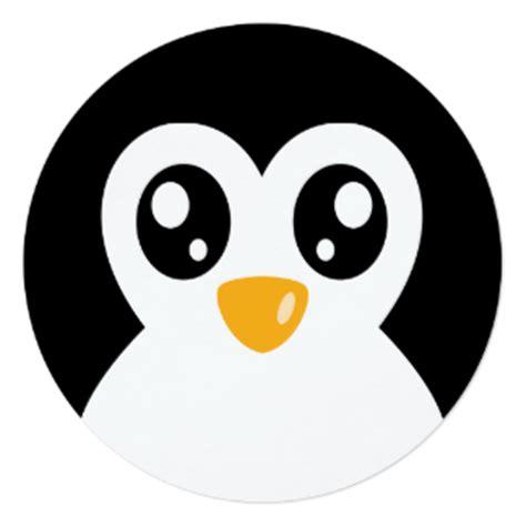 Penguin Cartoon Cards   Zazzle