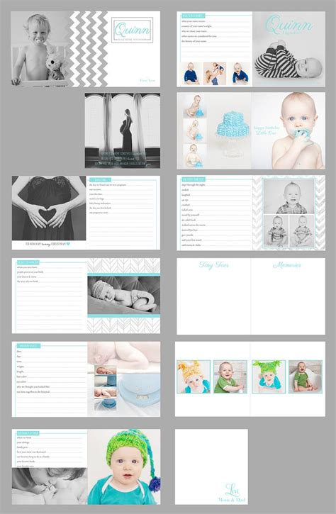 baby photo book template 25 best ideas about baby album on project