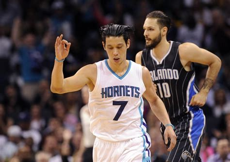 jeremy lin bench orlando magic fall to charlotte hornets bench in finale