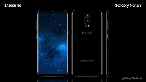 Samsung Note 8 Korea Samsung Galaxy Note 8 Dual Confirmed By Korean