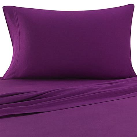bed bath and beyond jersey sheets pure beech 174 jersey knit twin extra long sheet set bed bath beyond