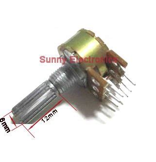 how to measure trimmer resistor free shipping 20pcs 100k ohm trimmer trim pot single turn top adjust variable resistor 104 in