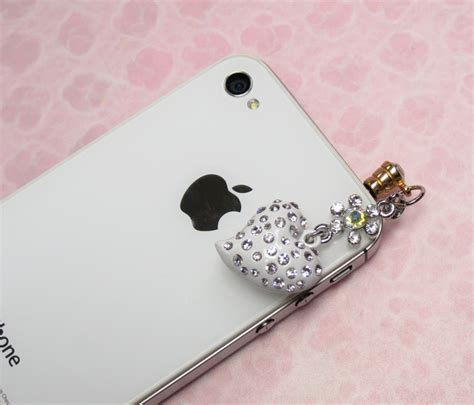 Botega Charm Samsung Note 5 bling dust phone charm for iphone galaxy note white on luulla