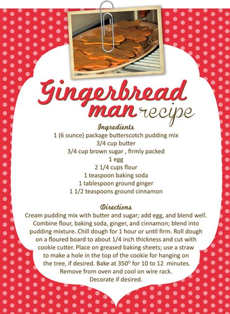 printable gingerbread man recipe crafty cookies for christmas gingerbread men the emeals