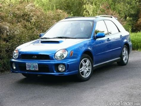 2002 Subaru Impreza Ts Rs Wrx Service Repair Manual