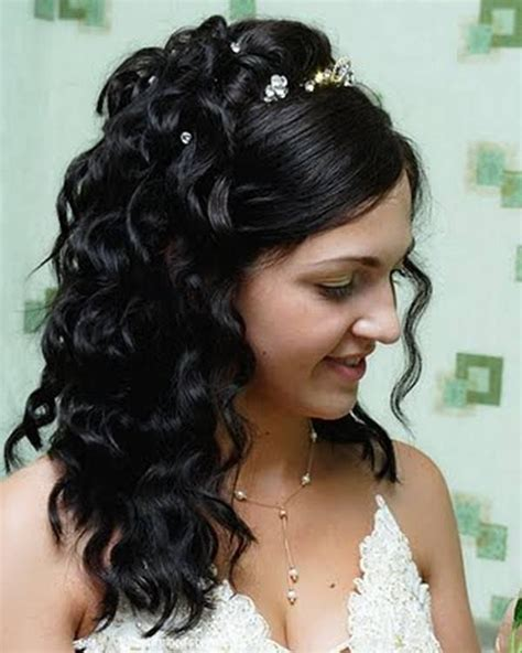 30 beautiful half up half down wedding hairstyles slodive