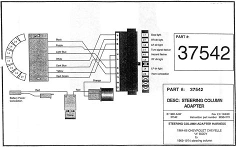 ididit wiring diagram steering column shift automatic