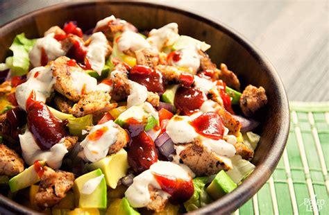 bbq chicken salad paleo leap