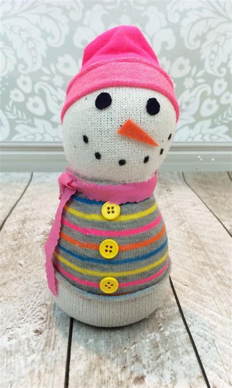 adorable sock snowman adorable snowman sock craft favecrafts