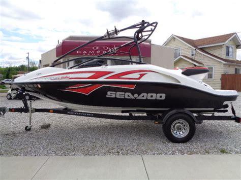sea doo jet boat types sea doo speedster wake 430 jet boat 2008 for sale for