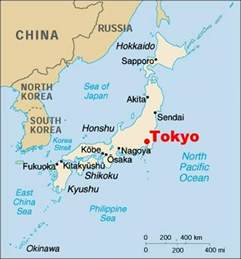 Tokyo World Map by Map Of Tokyo City Pictures