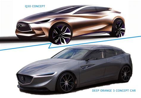 infiniti en mazda maken gelijkaardige conceptcar autofans