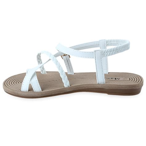 summer flats shoes summer ankle sandals gladiator thongs flip