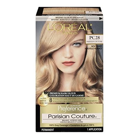 loreal rose gold hair color l oreal preference paris couture hair color 8rg rose gold