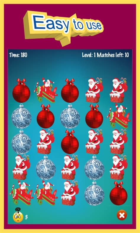 christmas tree match free android app android freeware christmas match 3 puzzle game free android app android