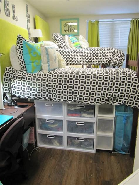 how to make bed higher inexpensive easy ways to make your dorm room awesome