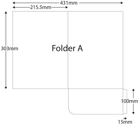 a4 printable area size folders a4 plus size non capacity hertford