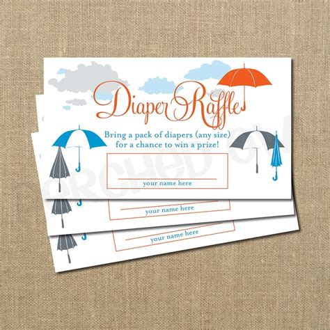 What To Bring For Baby Shower by Instant Umbrella Baby Shower Raffle